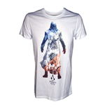 ASSASSIN'S CREED Unity Shades of a Revolution Large T-Shirt, White