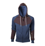 ASSASSIN'S CREED Unity Large Hoodie, Blue/Brown