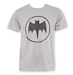 BATMAN Hand Sketched Bat Logo Tee Shirt