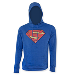 SUPERMAN Man Of Steel Logo Hooded Sweatshirt