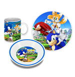 Sonic The Hedgehog Breakfast Set Characters
