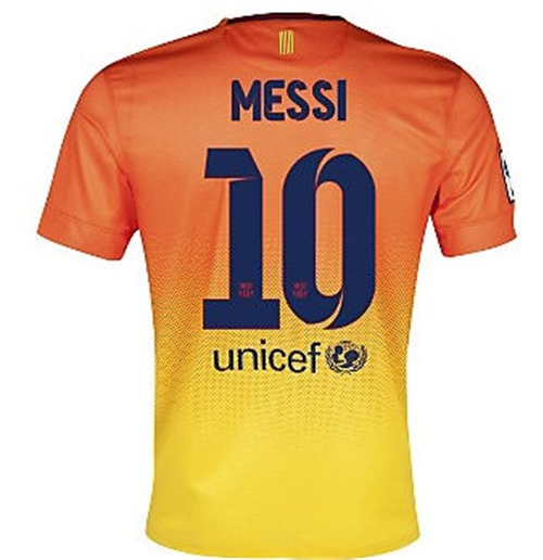 46189498f55 Buy Official 2012-13 Barcelona Nike Away Shirt (Messi 10) - Kids