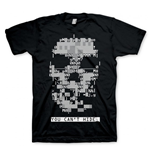WATCH DOGS Skull Medium T-Shirt, Black