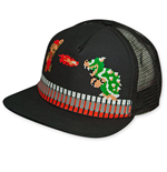 Super MARIO Bros. Bowser Battle Trucker Hat