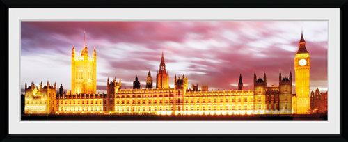 London Big Ben Framed Collector Print