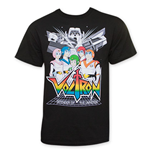 VOLTRON: Defenders Of The Universe Pilots Tee Shirt