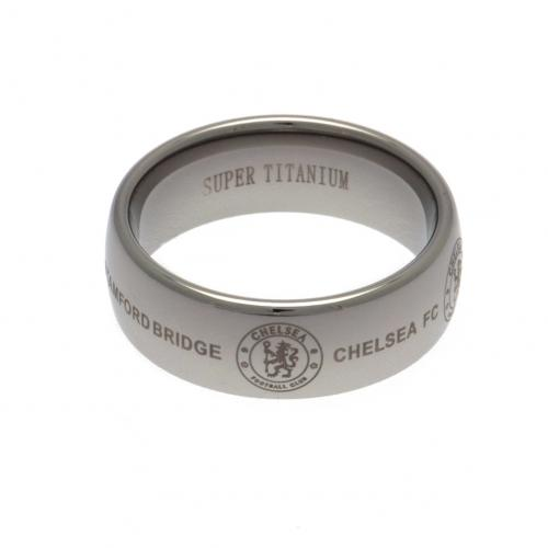 Chelsea F.C. Super Titanium Ring Large