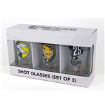 Metal Gear Solid Shotglass 3-Pack Set I