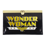 Retro Wonder Woman Metal Frame Patent Clasp Purse