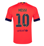 2014-15 Barcelona Away Shirt (Messi 10 )