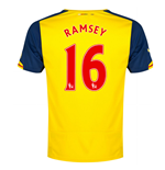 2014-15 Arsenal Away Shirt (Ramsey 16)