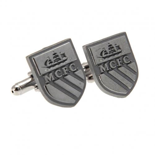 Manchester City F.C. Cufflinks Chrome