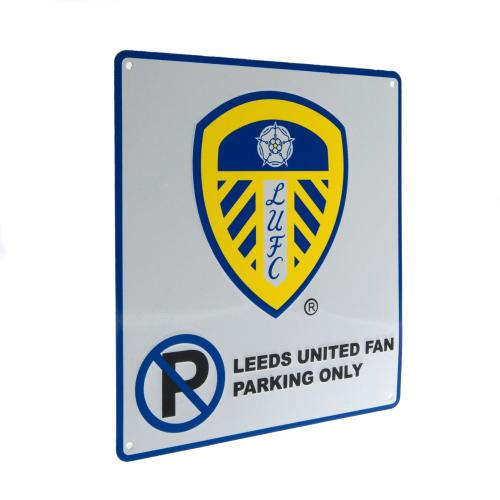 Leeds United F.C. No Parking Sign
