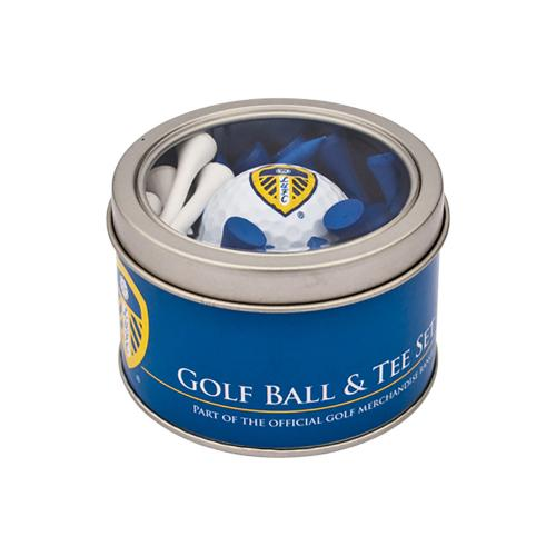 Leeds United F.C. Ball and Tee Set