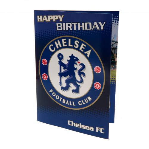 Chelsea F.C. Musical Birthday Card