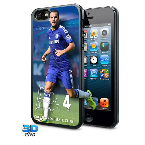 Chelsea F.C. iPhone 5 / 5S Hard Case 3D Fabregas