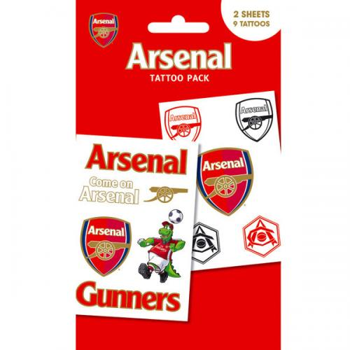 Arsenal F.C. Tattoo Pack