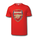 2014-2015 Arsenal Puma Big Crest Fan Tee (Red)