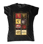 Game Of Thrones Ladies T-Shirt House Collection