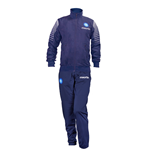 2014-2015 Napoli Official Microfibre Tracksuit (Navy)