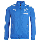 2014-2015 Rangers Puma Walkout Jacket (Blue)