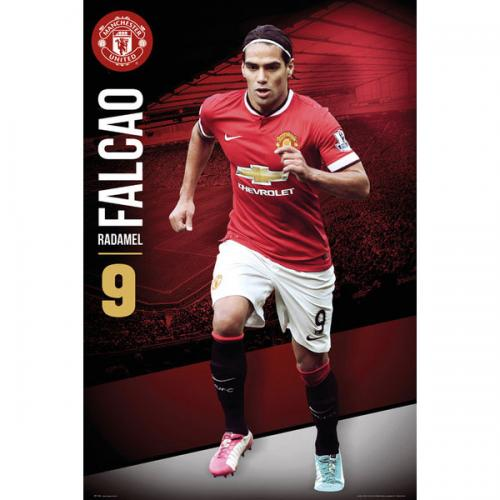 Manchester United F.C. Poster Falcao 88