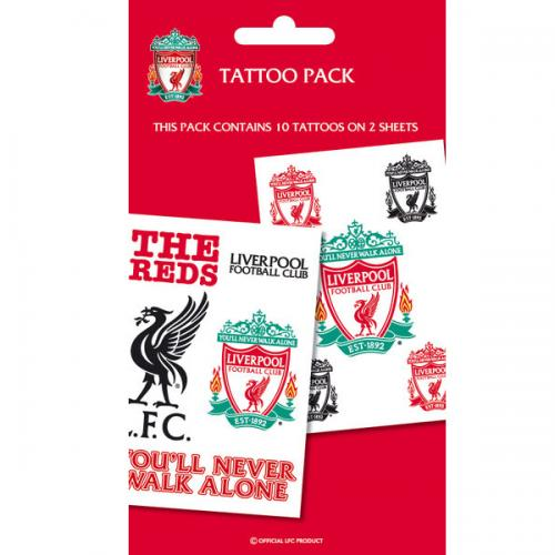 Liverpool F.C. Tattoo Pack