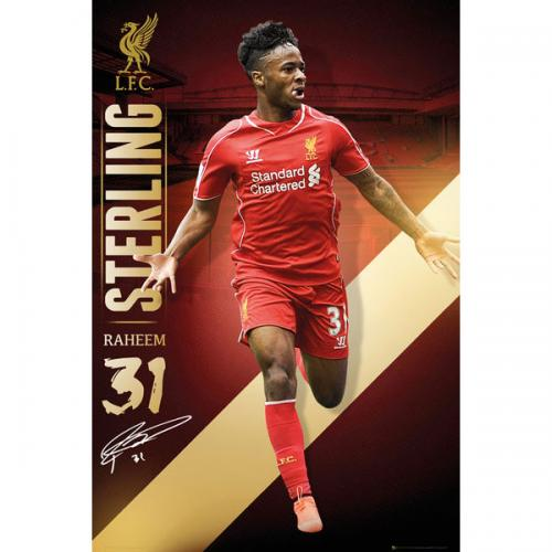 Liverpool F.C. Poster Sterling 83