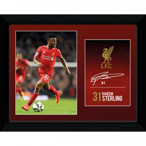 Liverpool F.C. Picture Sterling 16 x 12