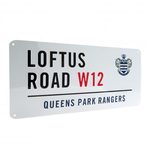 Queens Park Rangers F.C. Street Sign