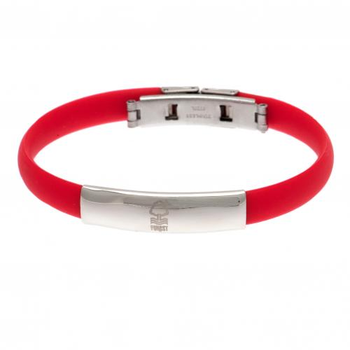 Nottingham Forest F.C. Colour Silicone Bracelet