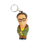 The Big Bang Theory Key-Chain with Anti-Stress Figure Leonard 8 cm