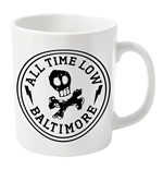 All Time Low Mug Skull City
