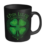 Thin Lizzy Mug Four Leaf Clover