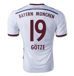 2014-15 Bayern Munich Away Shirt (Gotze 19) - Kids