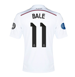 2014-15 Real Madrid UCL Home Shirt (Bale 11) - Kids