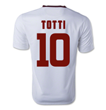 2014-15 Roma Away Shirt (Totti 10) - Kids