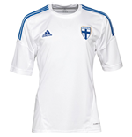 2013-14 Finland Adidas Home Football Shirt