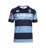2014-2015 Cardiff Blues Home Pro Rugby Shirt