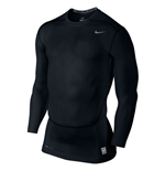 Nike Core Compression 2.0 Long Sleeve Top (Black)