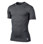 Nike Core Compression 2.0 SS Top (Carbon Heather)