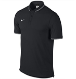 Nike Mens Authentic League Polo Shirt (Black-White)