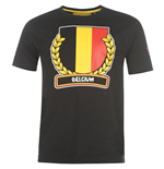 Belgium 2014 FIFA Flag T-Shirt (Black)