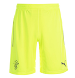 2014-2015 Rangers Home Goalkeeper Shorts (Yellow) - Kids