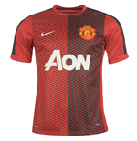 2014-2015 Man Utd Nike Pre-Match Training Shirt (Red)