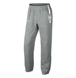 2014-2015 Man City Nike Core Fleece Cuff Pants (Grey)