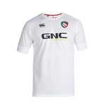 2014-2015 Leicester Tigers Dry Training Tee (Bright White)