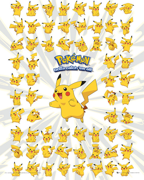 Pokemon Pikachu Mini Poster