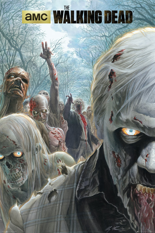 The Walking Dead Zombie Hoard Maxi Poster