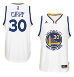 Mens Golden State Warriors Stephen Curry adidas White New Swingman Home Jersey